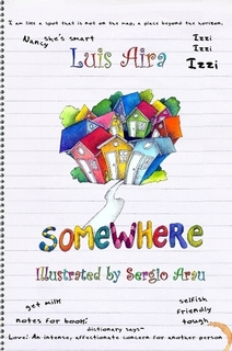 Luis Aira - SOMEWHERE - Book Cover